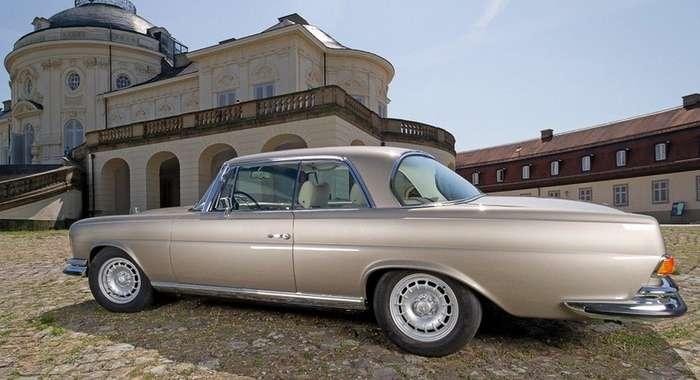 Классический Mercedes-Benz с современным сердцем от компании Mechatronik