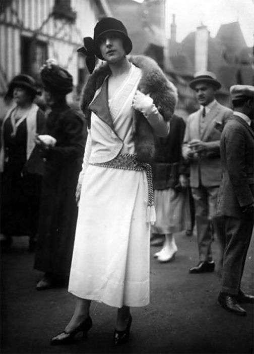 Модницы 20-х годов прошлого столетия