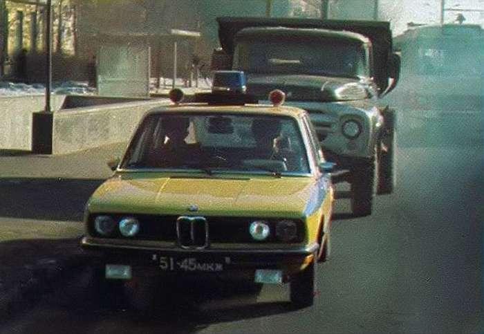BMW советской милиции