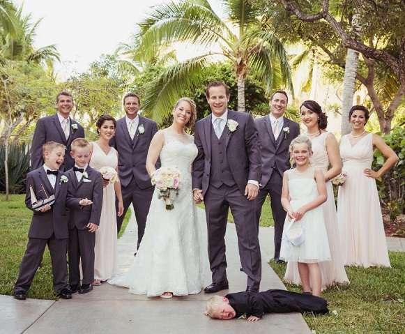 32 свадебных фотографии, на которых запечатлена обратная сторона этого праздника