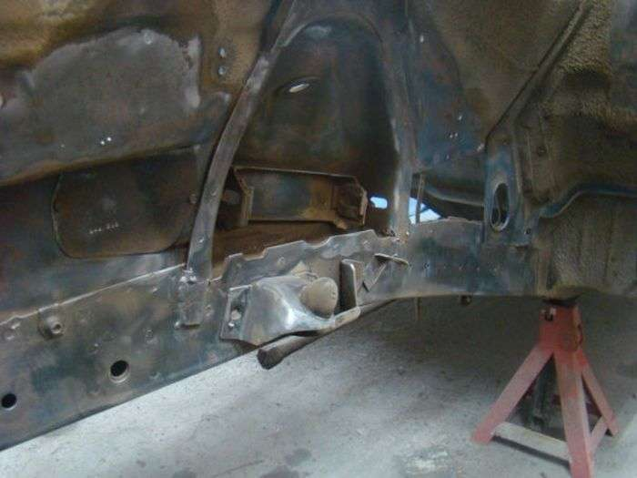 Фотоотчет о реставрации маслкара Plymouth Roadrunner 1971 года