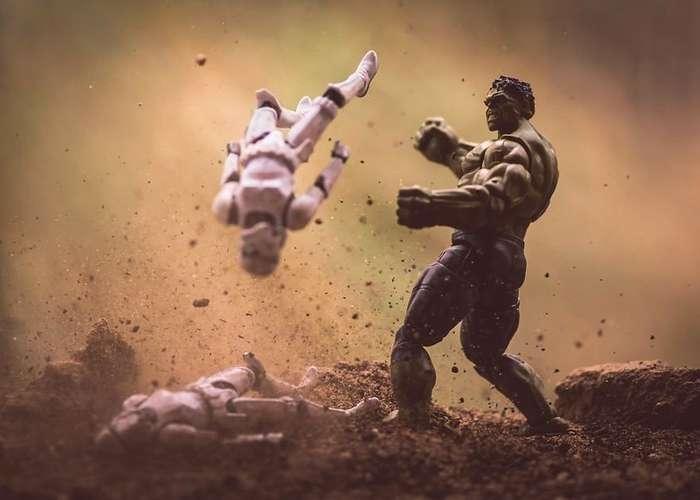 Вселенная -Звёздных войн- Митчела Ву: новая жизнь знаменитых персонажей