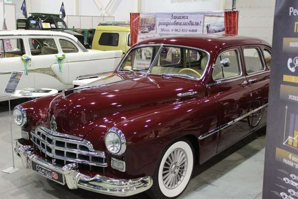 Фотоотчет о реставрации ЗИМ (ГАЗ-12) 1954 года выпуска