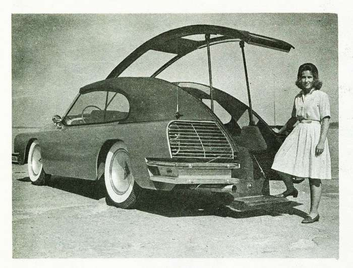 Автомобиль без дверей