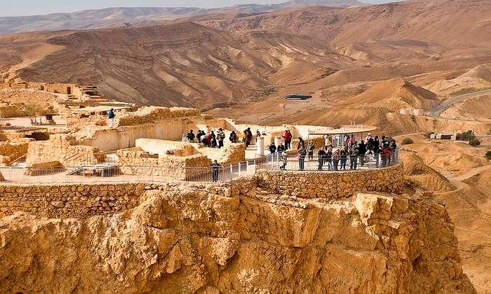 Крепость Масада - последний рубеж обороны евреев