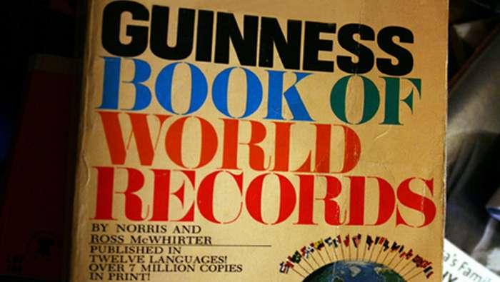 Как появилась книга рекордов Гиннесса