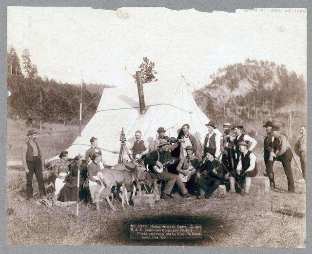 Дикий Запад второй половины XIX века