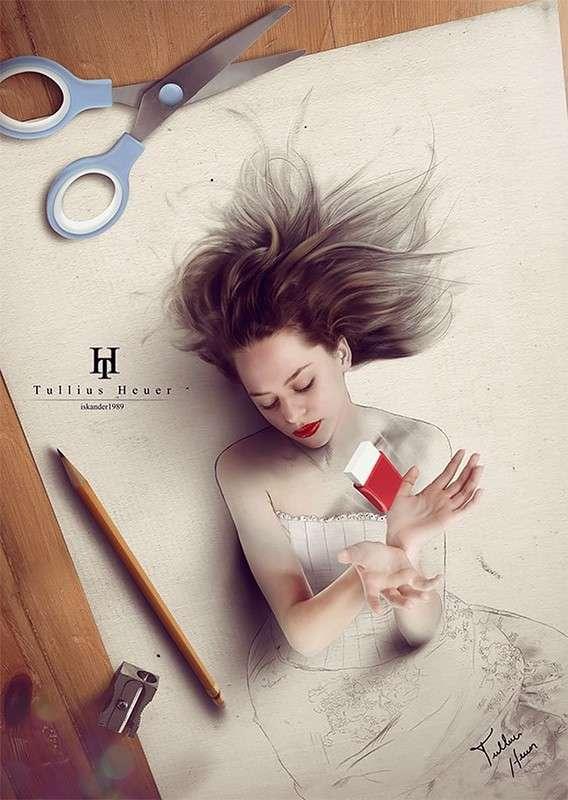 -Живые- цифровые картины иллюстратора Туллиуса Хейера