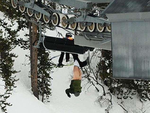 Самые смешные фотографии с лыжных склонов