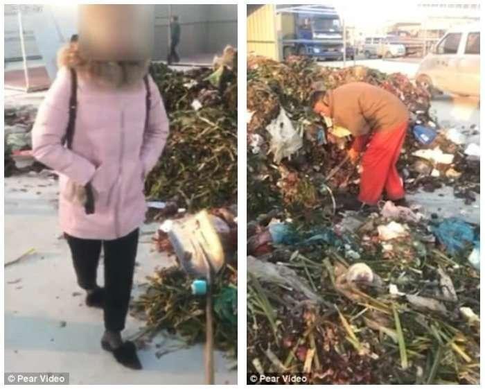 Чудеса случаются: рабочие перебрали 13 тонн мусора, чтобы вернуть потерянное кольцо (3 фото + 1 видео)