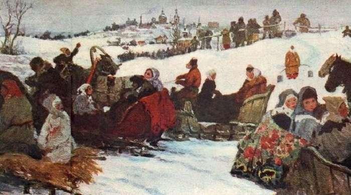 Как на Руси праздновали Новый год?