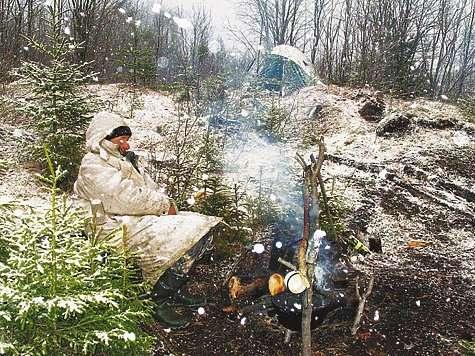Как выжить зимой в лесу