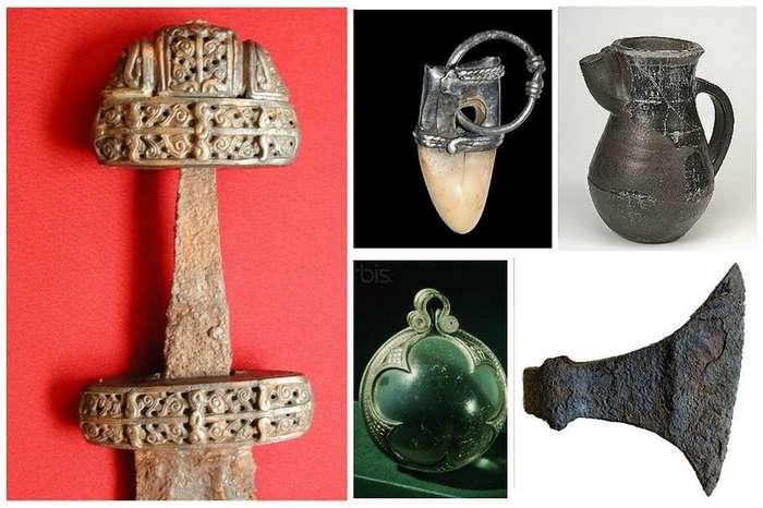 Предметы сильных, жестких и прекрасных викингов