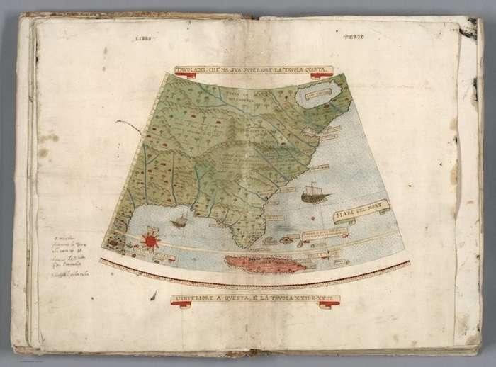 Старейший атлас мира 16 века впервые стал единой картой