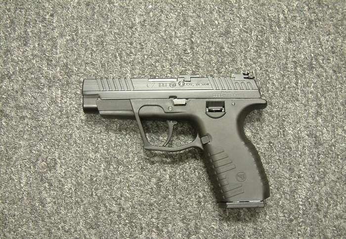 Стеклянный пистолет