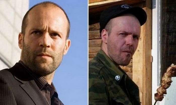 Забавные российские двойники мировых звезд
