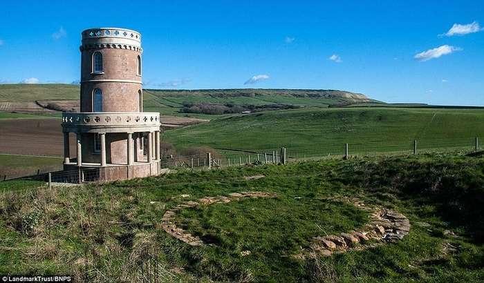 Небывалый ажиотаж: проживание в исторической башне в Англии забронировано на 1,5 года впёред