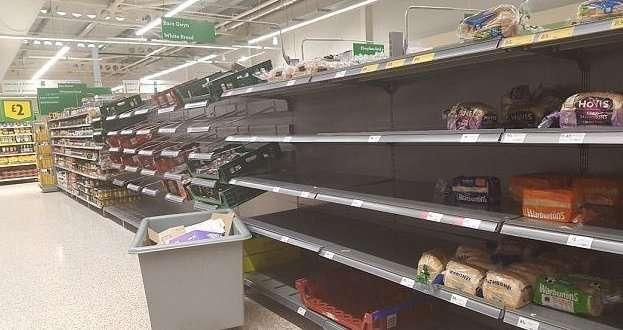 Англичане узнали, что такое дефицит продуктов