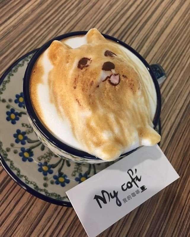 Китайский бариста создает из кофе композиции, которые просто жалко пить!