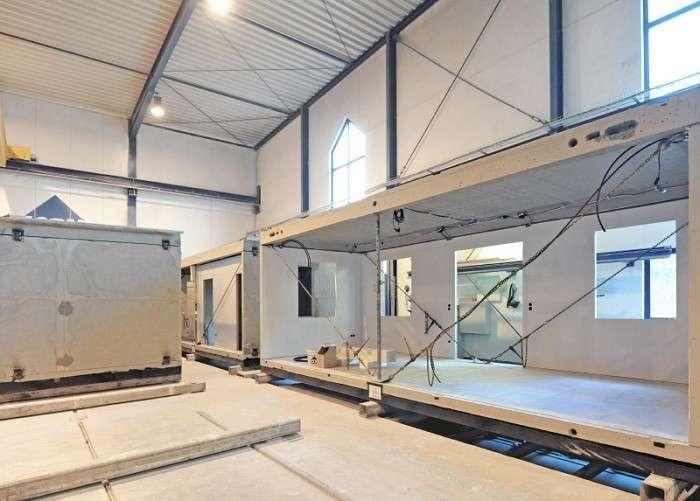 В Германии строят дома всего за 24 часа, все дело в особой технологии