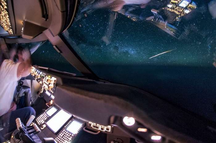 Потрясающие снимки из кабины пилота -Боинга-