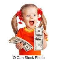Как мой ребенок доллары раздавал