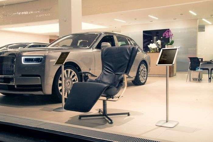 Rolls-Royce представил кресло Elysium-R стоимостью 52 000 долларов
