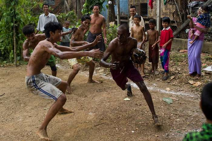 Веселый день независимости Бирмы