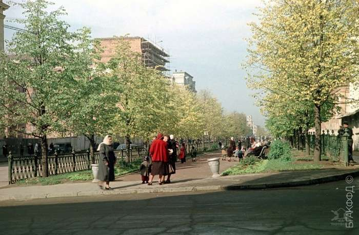Минск в 1950-х годах
