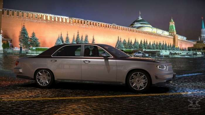 Российский дизайнер представил, как могла бы выглядеть современная -Волга-