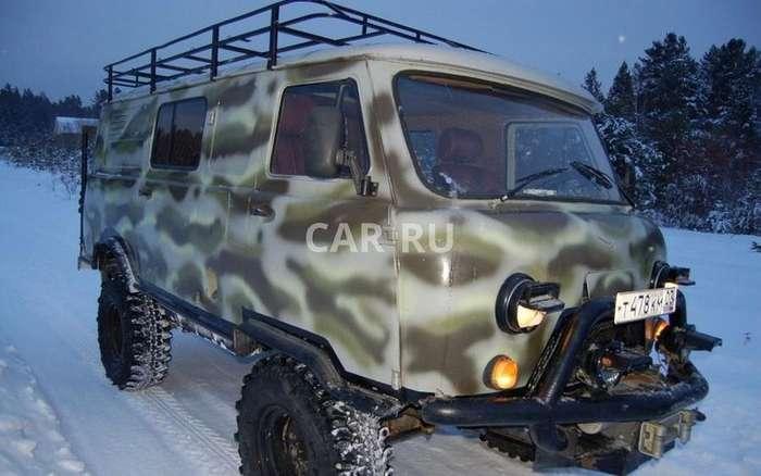 Тюнинг УАЗ -Буханка-