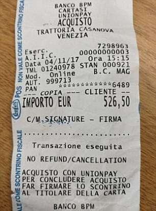 1000 евро за три стейка и жареную рыбу: туристы в Венеции вызвали полицию, увидев счет в ресторане