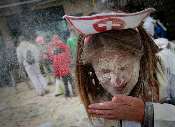 Бои мукой в Испании