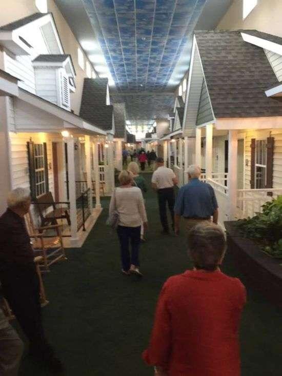 Не простой дом престарелых