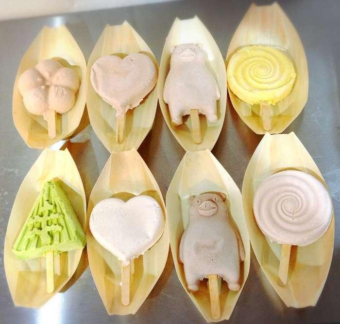 Нетающее мороженое и огнеупорное парфе от Kanazawa Ice