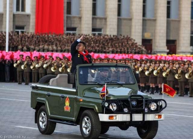 Автопром Северной Кореи. Китай, СССР