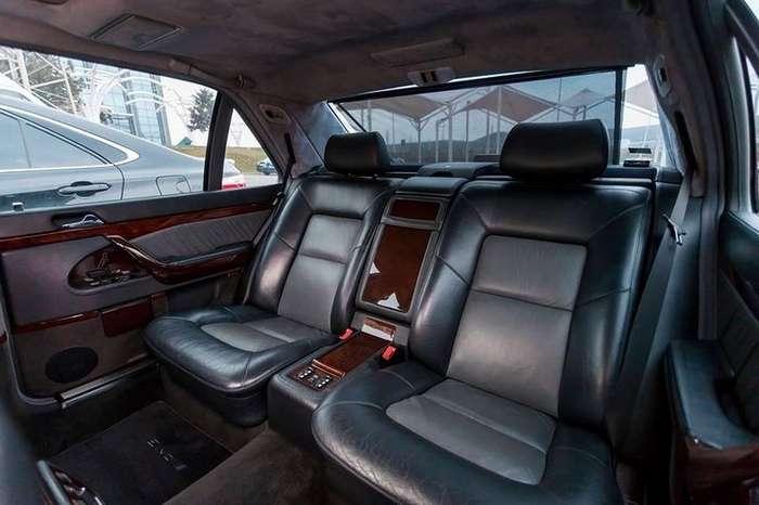 Mercedes-Benz 7.0 AMG - одна из самых редких версий W140