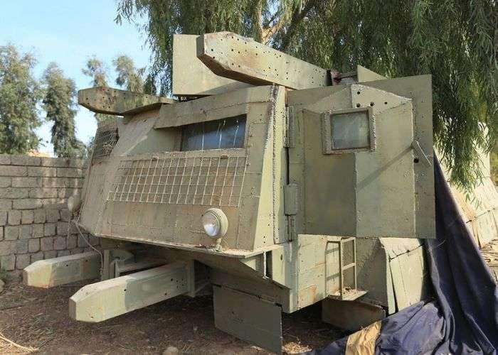 Уродливая техника боевиков с Ближнего Восток