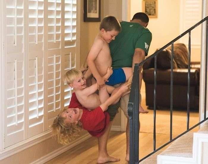 Мама показала, как это — воспитывать трёх сыновей