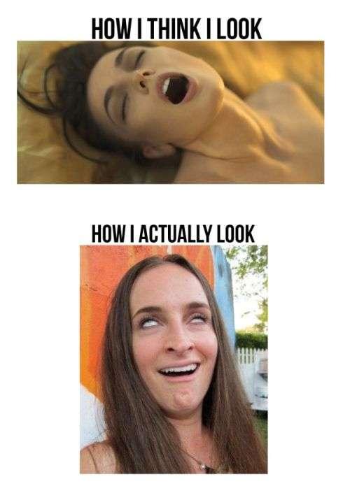 Как я себя вижу и как я выгляжу на самом деле
