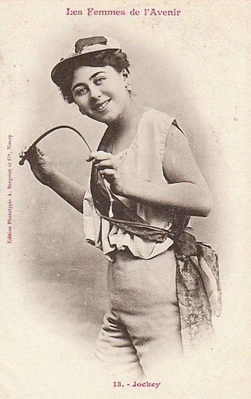 Профессии, в которых было невозможно представить женщин в 1902 году