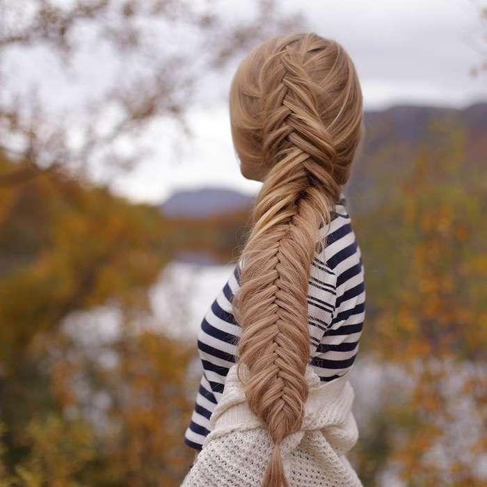 Сестрички из Норвегии плетут такие косы, что закачаешься