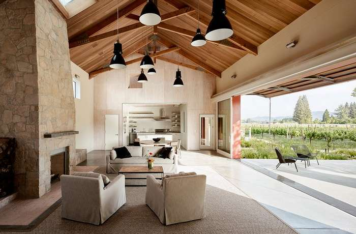 Дом-амбар на ранчо в Калифорнии