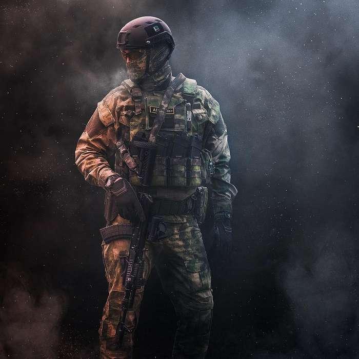 Подборка фотографий бойцов спецподразделений России