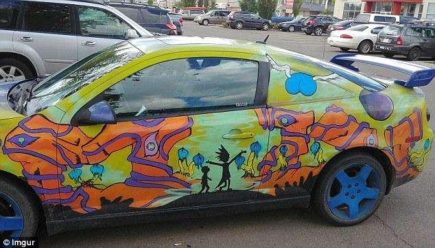 Авто с яркими принтами: безумство или неповторимый стиль?