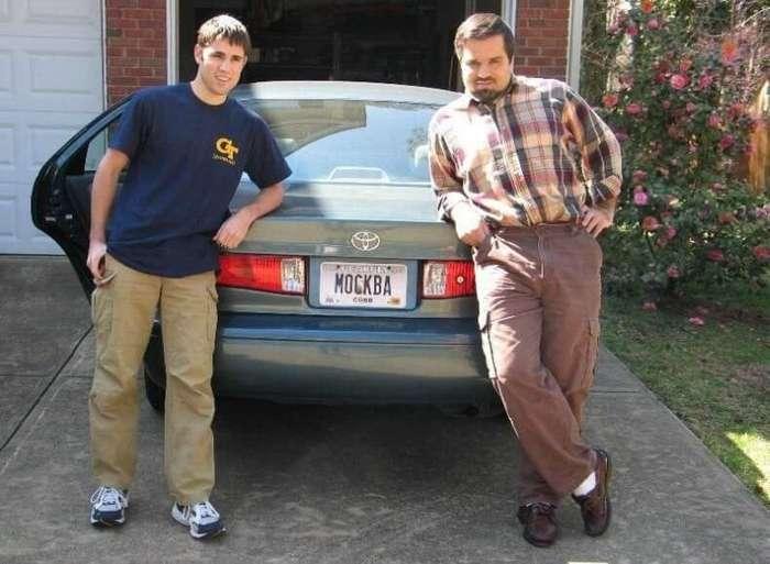 Забавные автомобильные номера наших иммигрантов в США и Канаде