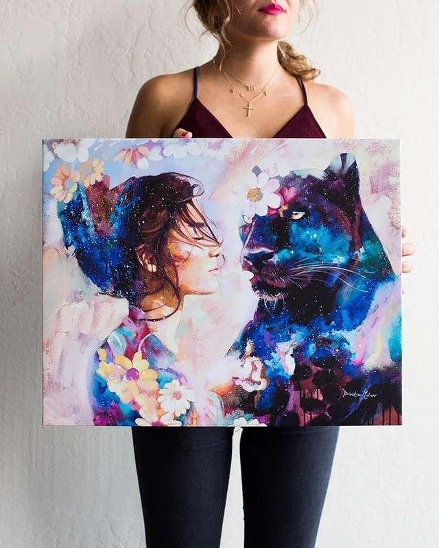 Работы 18-летней художницы, за каждую из которых она просит $10 000