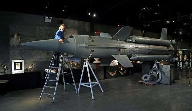 Советскую ракету времен холодной войны продали с аукциона