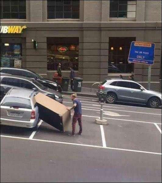 Нерадивые люди, которые не должны находиться рядом с автомобилем