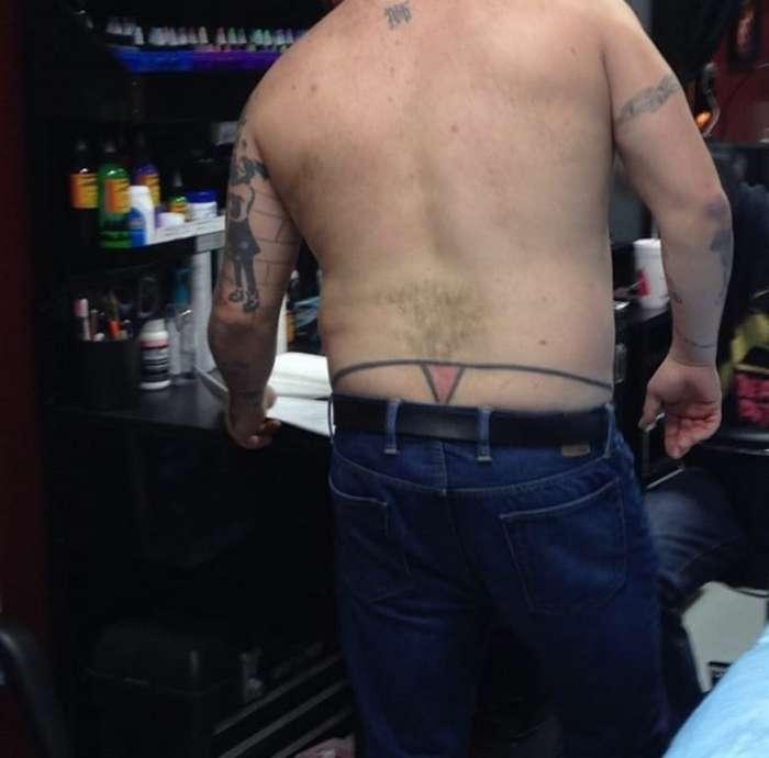 Нелепые и смешные татуировки